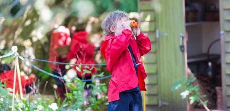 Benefits of outdoor activities for children