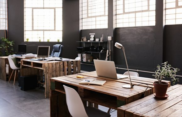 Maintaining focus on arranging a new office